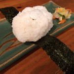 ご飯屋 おむすび - おむすび 塩サバ ¥100+tax