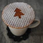 T.C cafe - 季節のドリンク  バタートゥフィーラテ