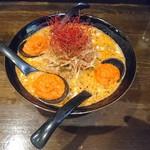 陽華楼 - なんともインスタ映えする担々麺