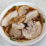 中華そば すずき - 料理写真:大盛チャーシューメン