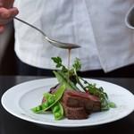 Restaurant H&A - 料理写真:厚切りステーキ
