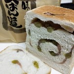 食ぱん道 - さくらあんとうぐいす豆 期間限定
