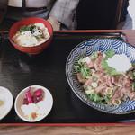 食彩館 - ステーキ丼