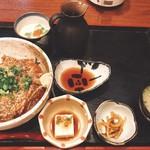 はじめの一歩 - 鯛茶漬け定食、天ぷらはあとからw