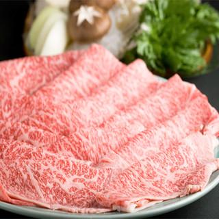 幻の黒毛和牛『尾崎牛』をはじめ、高級和牛の食べ比べコース堪能