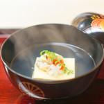 祇園 末友 - 料理写真:浅利豆腐のお椀
