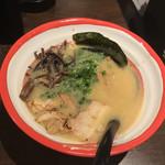 104979134 - 博多ラーメン 細麺 750円