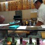 寿司 魚がし日本一 - カウンターのみ