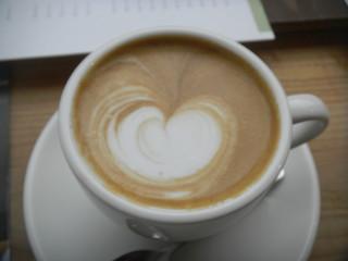 ゼロハチコーヒー - カフェラテ 500円