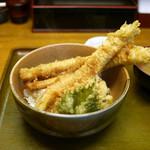 心平 - 穴子天丼 ¥1,100