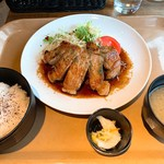 Jackson's N.Y.DINER - トンテキ定食
