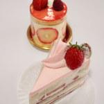 ラトリエ ドゥ アンティーク - ショートケーキと苺のムース
