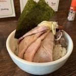 104984219 - ちゃーしゅーごはん(麺類セット300円)