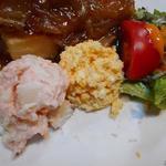 丸太小屋レストラン  びんずる - サラダ