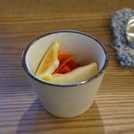 カフェクラブ 焙煎堂 - 料理写真:カレーセット大盛り ピクルス