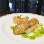 Barteca SOLOMINA - 真鯛のポワレ  ハーブバターのソース