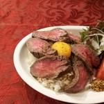 マッスルキッチン - ローストビーフ丼