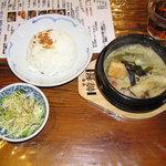 10499132 - 日替定食(グリーンスープカレー)