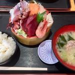 タカマル鮮魚店 - 日替わり定食@1280