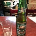 台湾料理 台湾 - 台湾ビール 500円