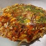 お好み焼 はやと - 肉玉そば(700円)
