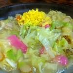 びぃどろ亭 - 皿うどん(850円)