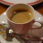 Bakery&Trattoria ISAMU - 食後のコーヒー