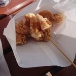 揚匠 しげ盛 - 梅マヨネーズ味 かた100g 310円