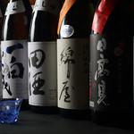 旬味食彩 佳乃 - 宮城・東北の地酒を常時20種類ご用意しております。