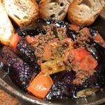 ドリーム ハート - 料理写真:3月末~7月初旬までの大阪茄子を使ったアヒージョ