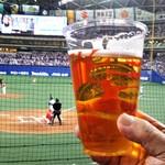 名古屋ドーム 売店 - ドリンク写真:生ビール 700円(税込)。     2019.04.03