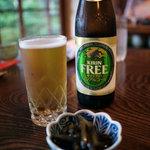 蕎麦処 多賀 - ノンアルコールビール
