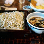蕎麦処 多賀 - 【鴨せいろそば】¥1,100