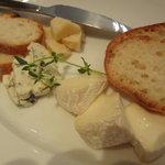 ササヤビーワイオー - チーズの盛り合わせ