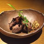 コンパス - 干し肉の炙り焼き