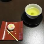 山中温泉 花紫 - 料理写真:上生菓子『山茶花』