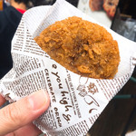 菅乃屋  - 馬肉メンチカツ