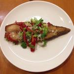 彩雲瑞 - [椒塩炸鯧魚]        マナガツオの揚げ物、山椒風味