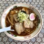 山中食堂 - チャーシューメン 640円