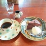 カフェ ギュット - やちむんの器が素敵(´ω`)
