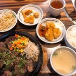 さらんちぇ江戸堀 - 牛焼肉定食