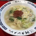 三河タンメン - 三河タンメン 680円(3辛)