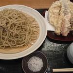 105022714 - 野菜天そば、蕎麦大盛(税込1,480円)