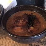麺家かもん - チャーシューつけ麺。