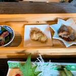 食楽 螢 - ホタルイカ、鶏、煮物