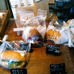 関次商店 パンの蔵 風土 - 300円からのサンドイッチは5種類。無いものは言えば、その場で作ってくれます。