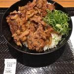 カルビ丼とスン豆腐専門店 韓丼 - カルビ丼(並) ¥540(税込)