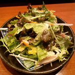 五臓六腑 - シーザーサラダ(取り分け後)