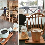 おむすびcafe 粒 - セットの ホットコーヒー/カフェオレ(hot)