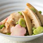 馳走三昧 - 鶏と筍の土佐煮